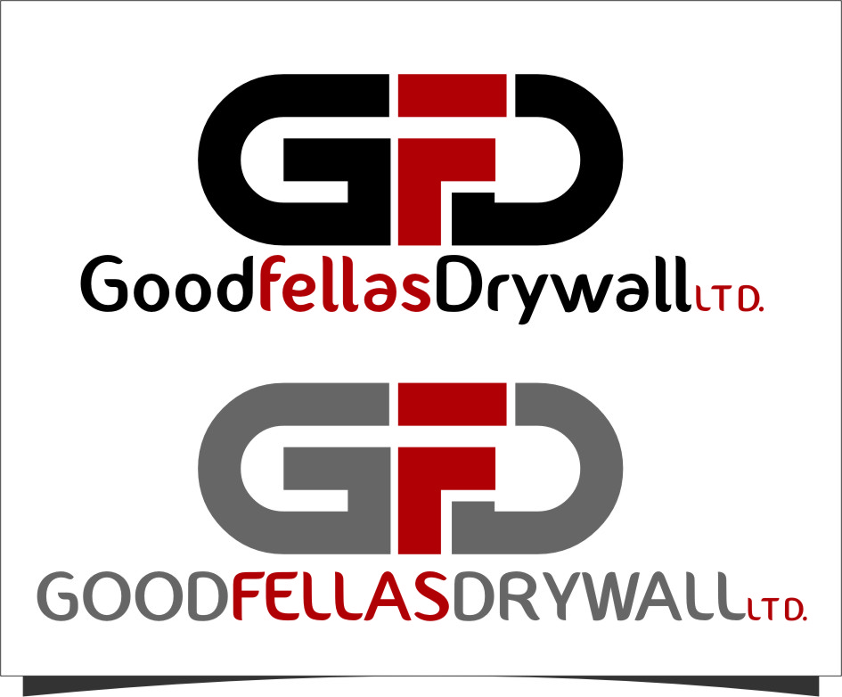 Logo Design by Ngepet_art - Entry No. 154 in the Logo Design Contest Creative Logo Design for Goodfellas Drywall.