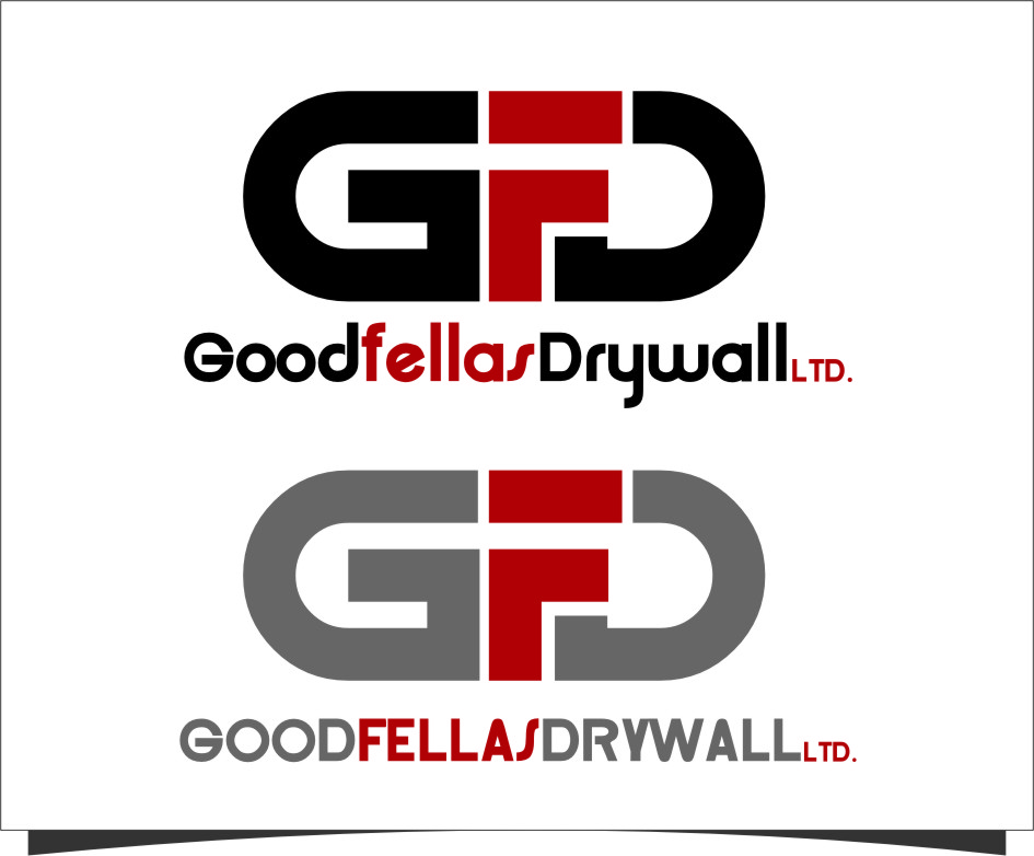Logo Design by RoSyid Rono-Rene On Java - Entry No. 155 in the Logo Design Contest Creative Logo Design for Goodfellas Drywall.