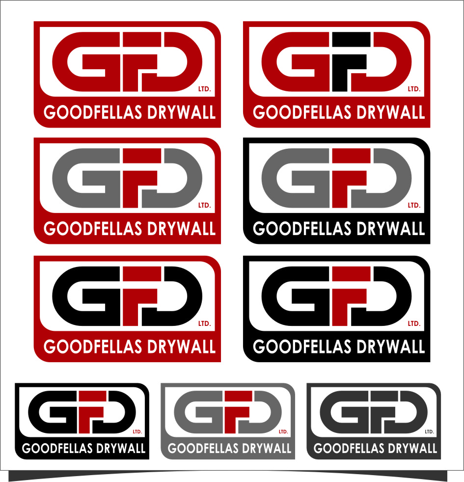 Logo Design by Ngepet_art - Entry No. 156 in the Logo Design Contest Creative Logo Design for Goodfellas Drywall.
