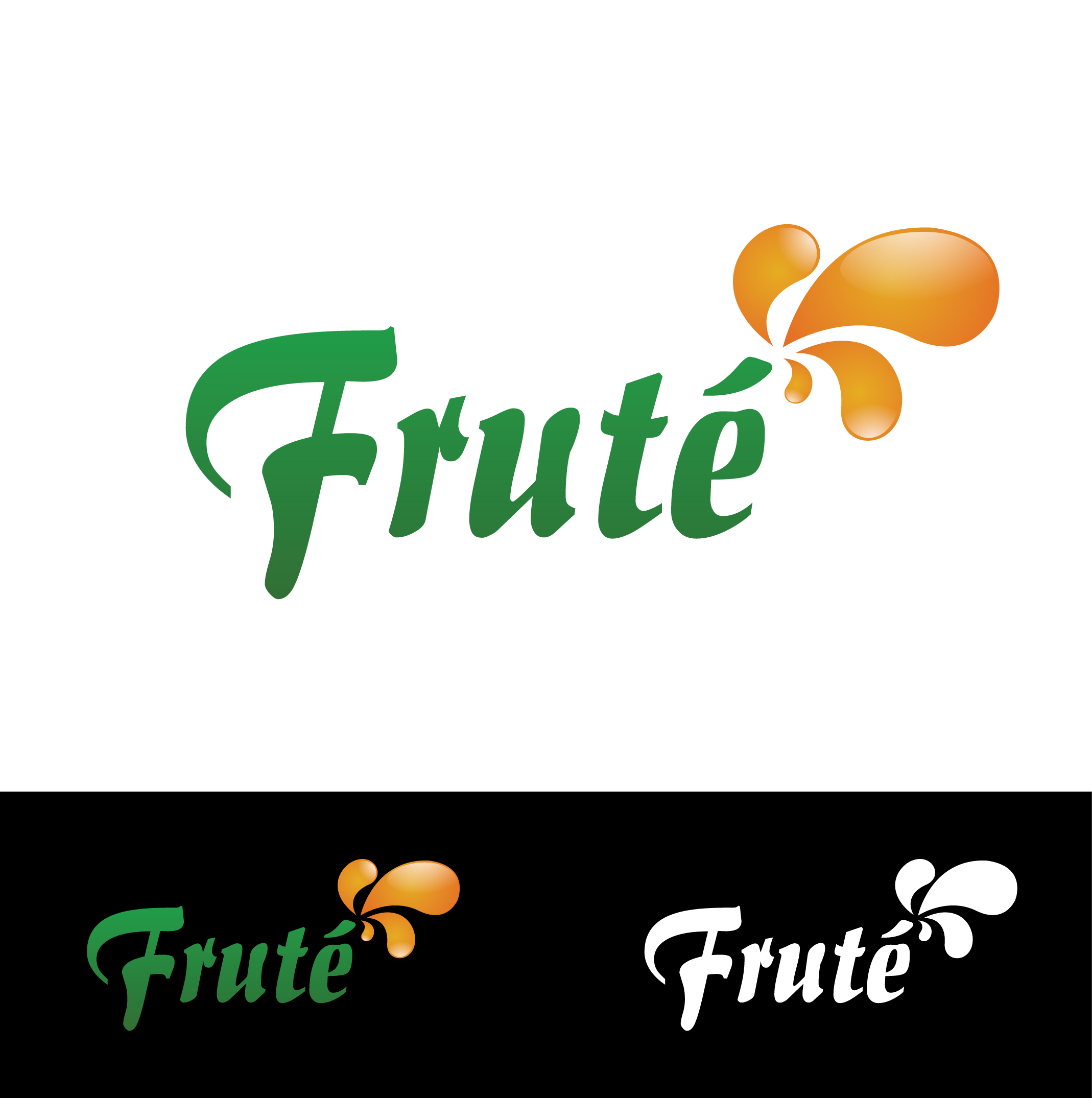 Logo Design by Private User - Entry No. 28 in the Logo Design Contest Imaginative Logo Design for Fruté.
