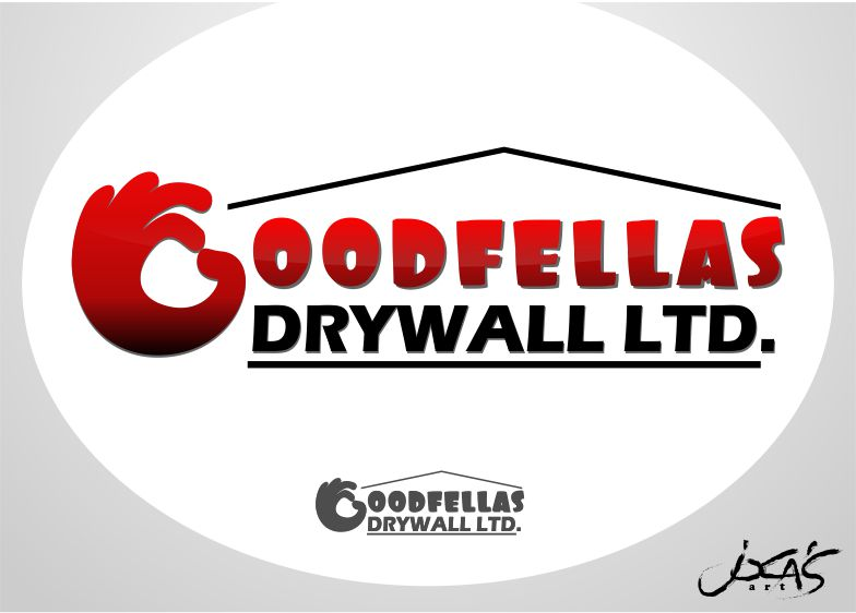 Logo Design by joca - Entry No. 158 in the Logo Design Contest Creative Logo Design for Goodfellas Drywall.