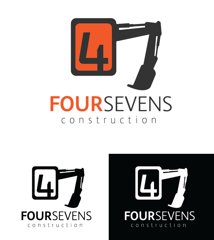 Logo Design by Christina Evans - Entry No. 54 in the Logo Design Contest New Logo Design for foursevens.