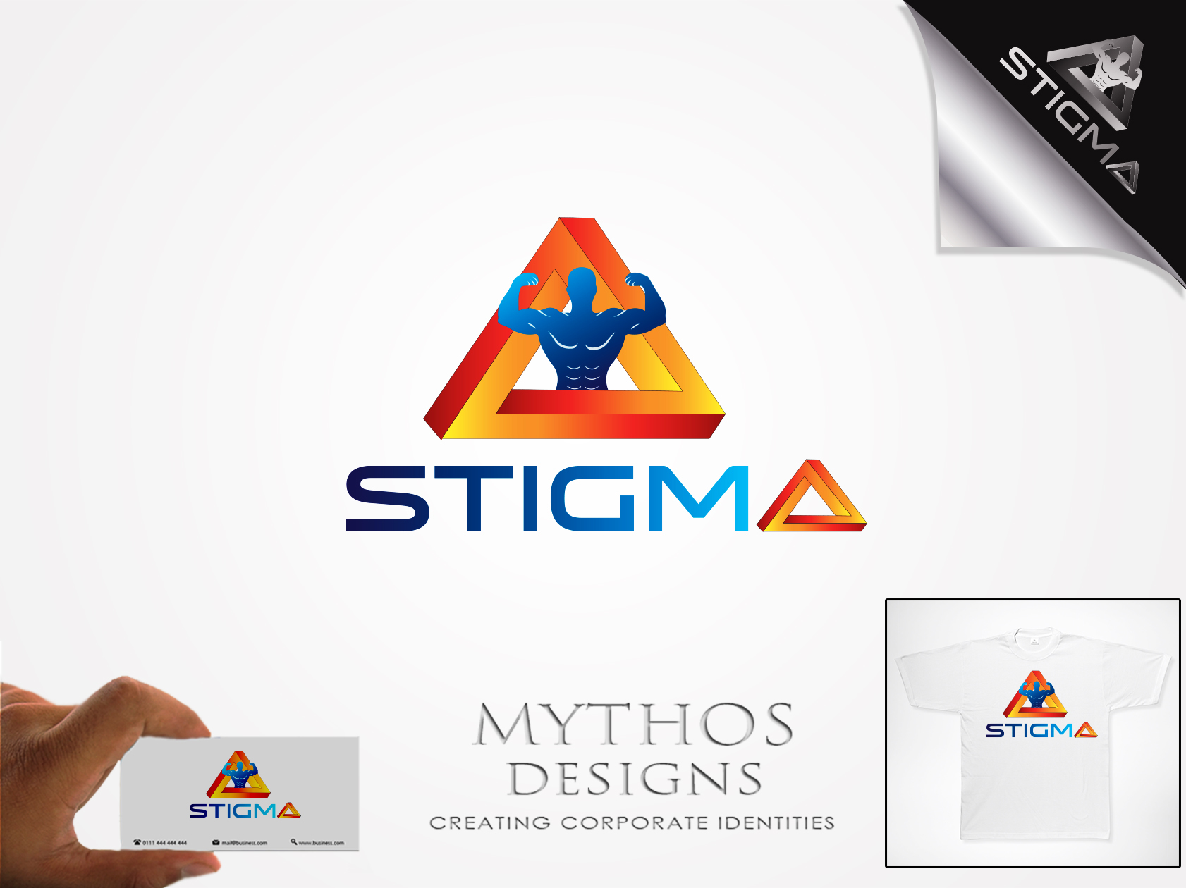 Logo Design by Mythos Designs - Entry No. 27 in the Logo Design Contest Creative Logo Design for STIGMA.