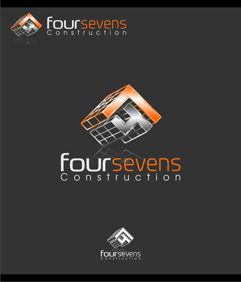 Logo Design by Muhammad Nasrul chasib - Entry No. 58 in the Logo Design Contest New Logo Design for foursevens.