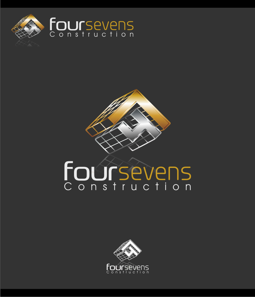 Logo Design by graphicleaf - Entry No. 59 in the Logo Design Contest New Logo Design for foursevens.