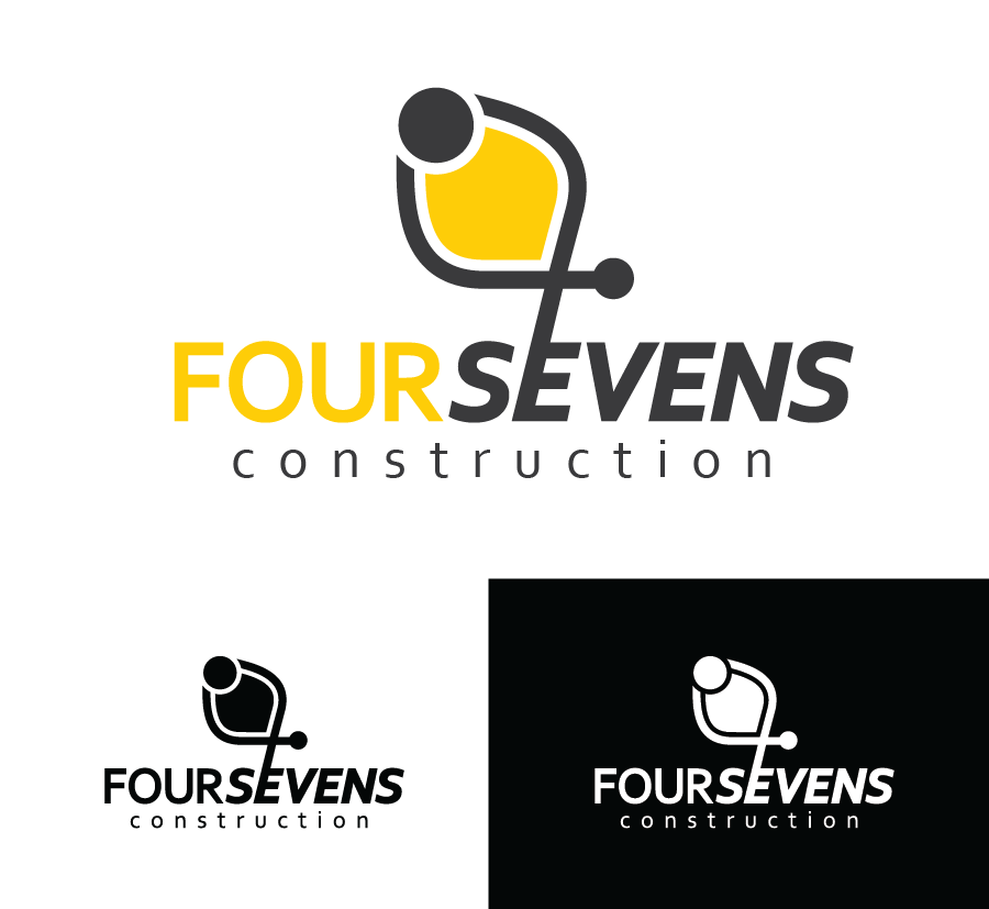 Logo Design by Christina Evans - Entry No. 65 in the Logo Design Contest New Logo Design for foursevens.
