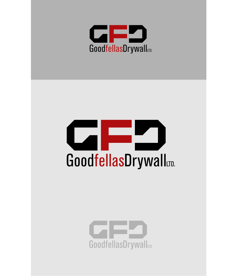 Logo Design by graphicleaf - Entry No. 164 in the Logo Design Contest Creative Logo Design for Goodfellas Drywall.