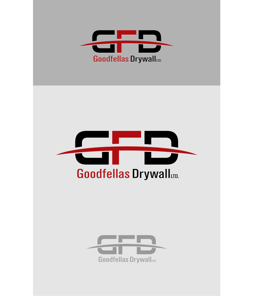 Logo Design by graphicleaf - Entry No. 165 in the Logo Design Contest Creative Logo Design for Goodfellas Drywall.