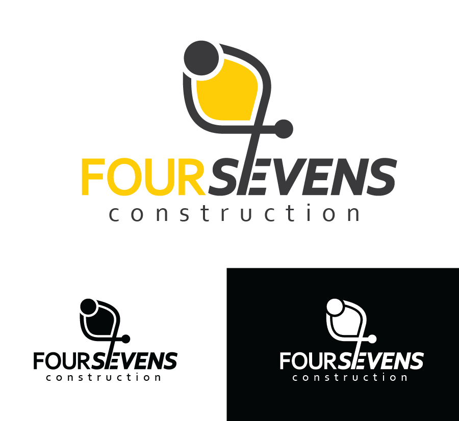 Logo Design by Christina Evans - Entry No. 67 in the Logo Design Contest New Logo Design for foursevens.