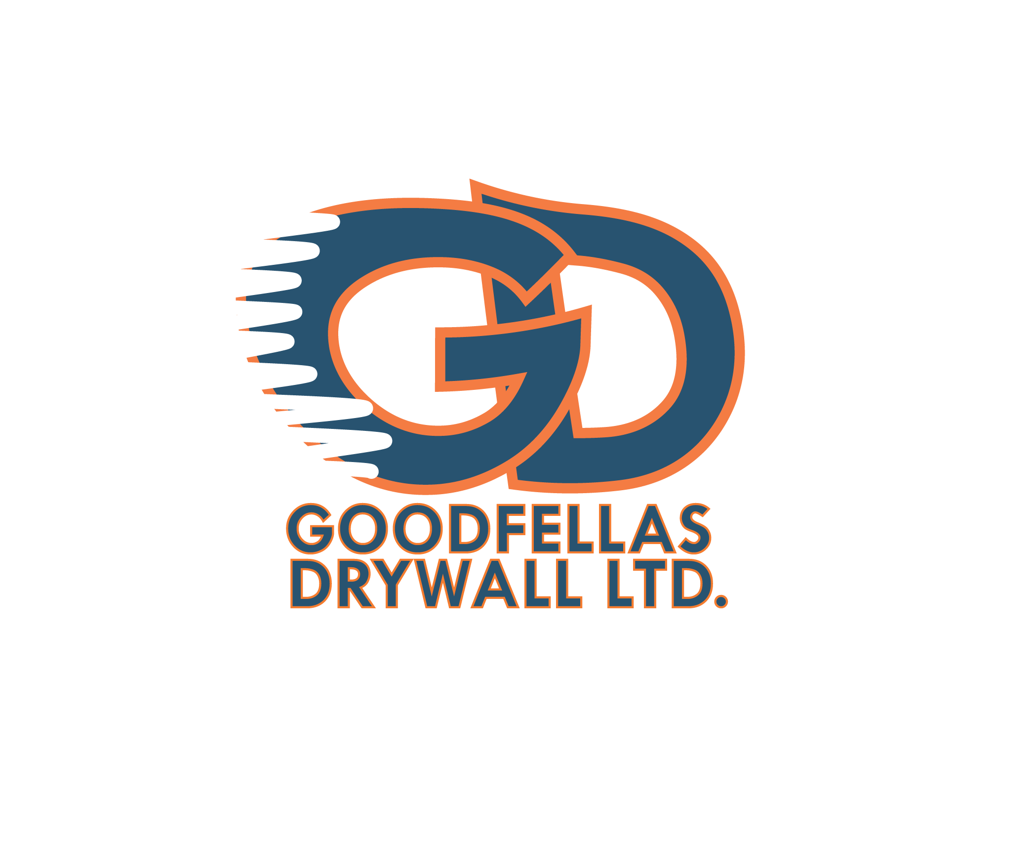 Logo Design by Tim Holley - Entry No. 170 in the Logo Design Contest Creative Logo Design for Goodfellas Drywall.