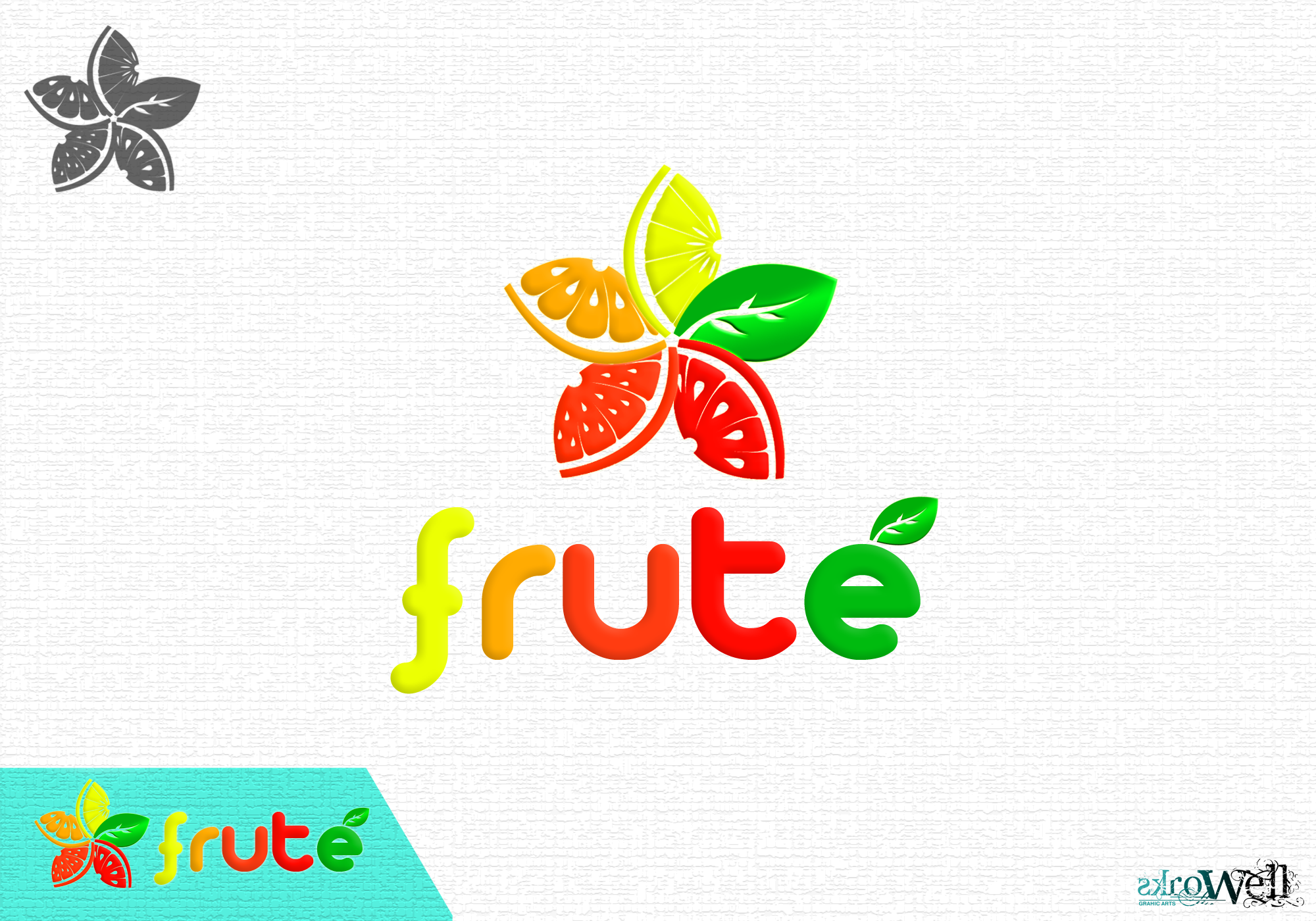 Logo Design by Rowell - Entry No. 39 in the Logo Design Contest Imaginative Logo Design for Fruté.