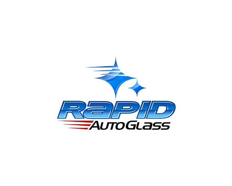 Logo Design by Dije Eki - Entry No. 186 in the Logo Design Contest Unique Logo Design Wanted for Rapid Auto Glass.