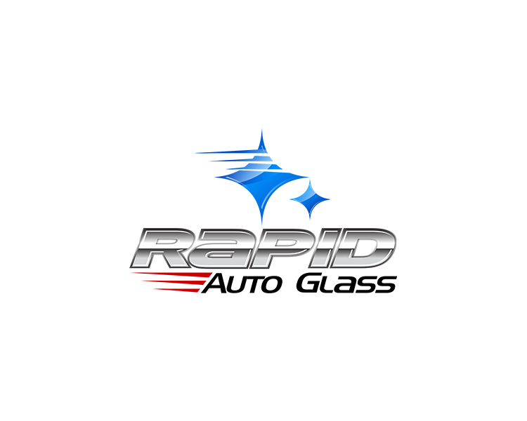 Logo Design by Dije Eki - Entry No. 187 in the Logo Design Contest Unique Logo Design Wanted for Rapid Auto Glass.