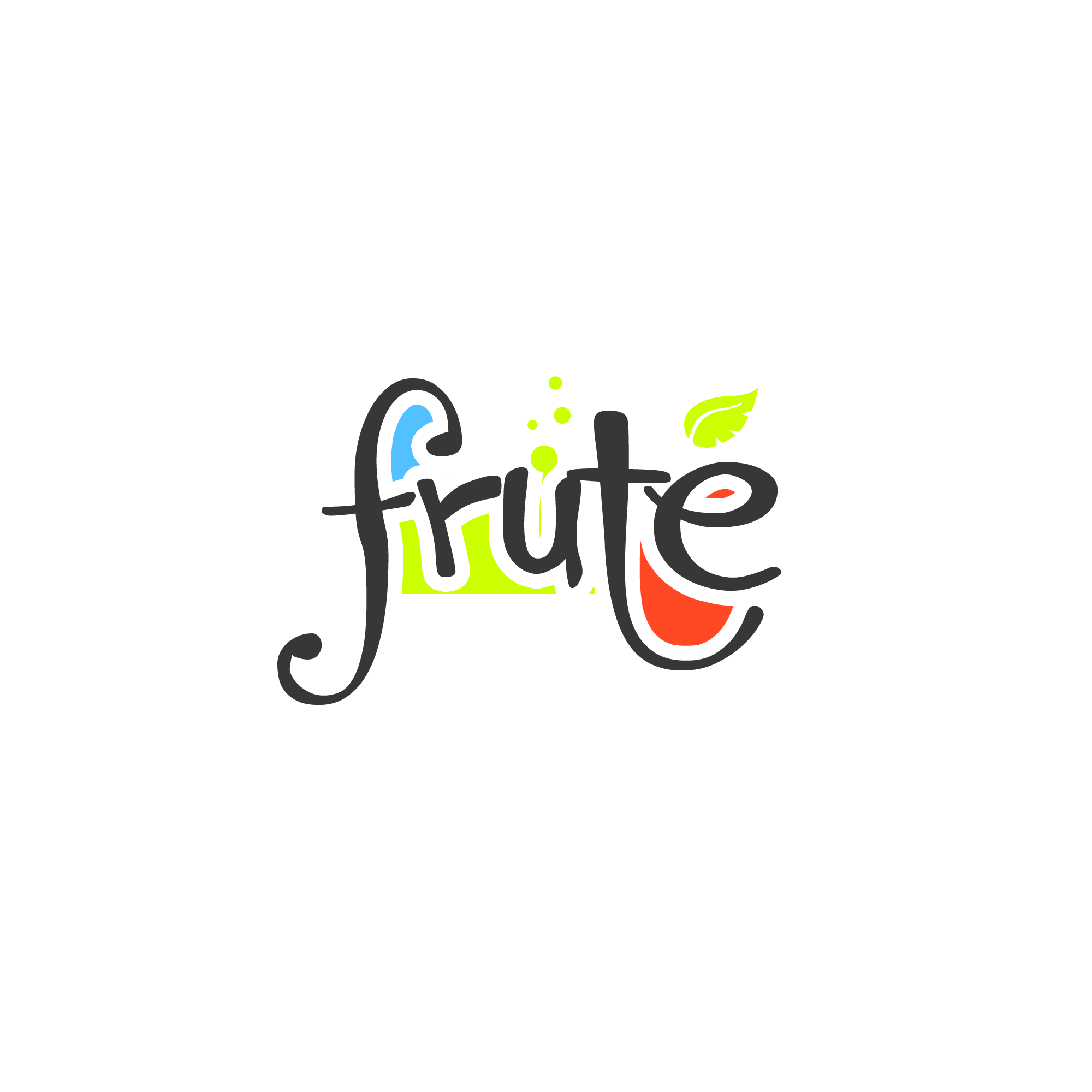 Logo Design by Kenneth Joel - Entry No. 44 in the Logo Design Contest Imaginative Logo Design for Fruté.