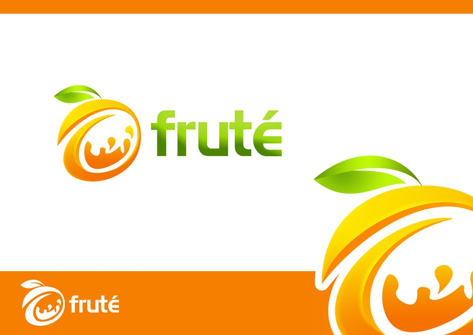 Logo Design by Respati Himawan - Entry No. 46 in the Logo Design Contest Imaginative Logo Design for Fruté.