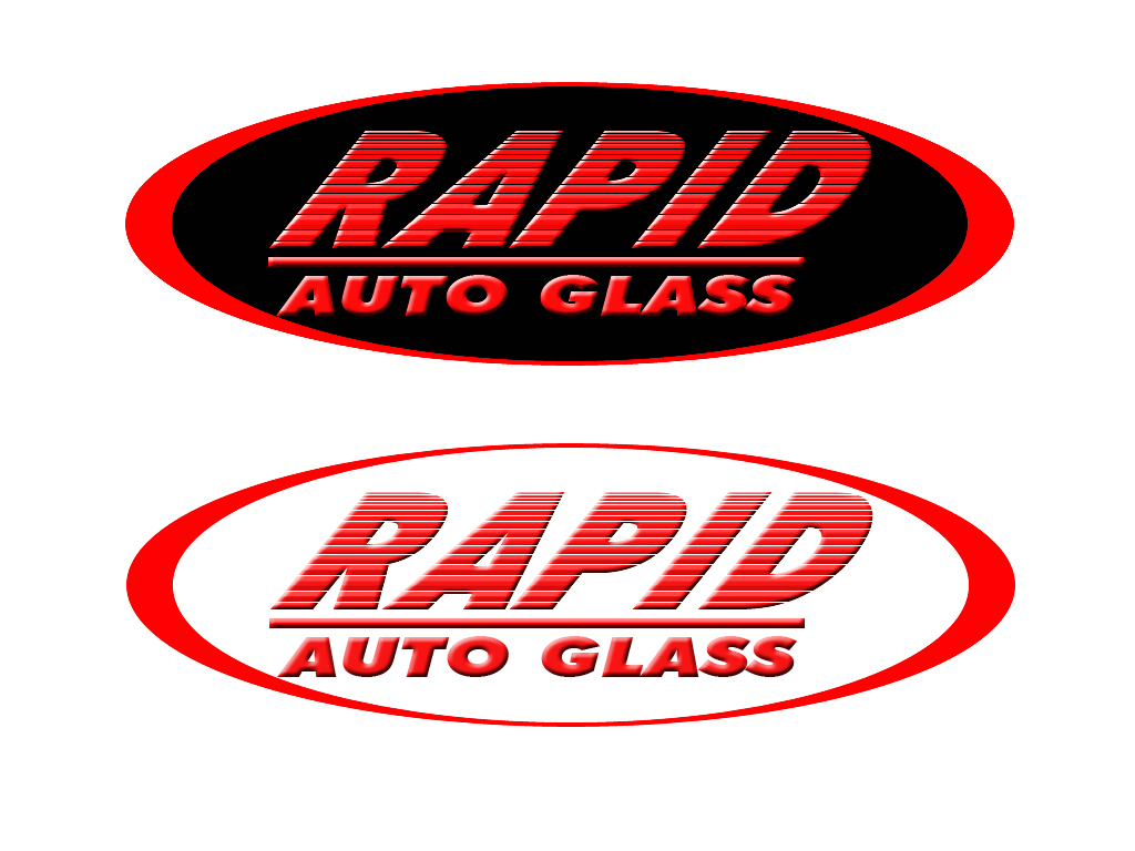 Logo Design by Aljohn Mana-ay - Entry No. 188 in the Logo Design Contest Unique Logo Design Wanted for Rapid Auto Glass.