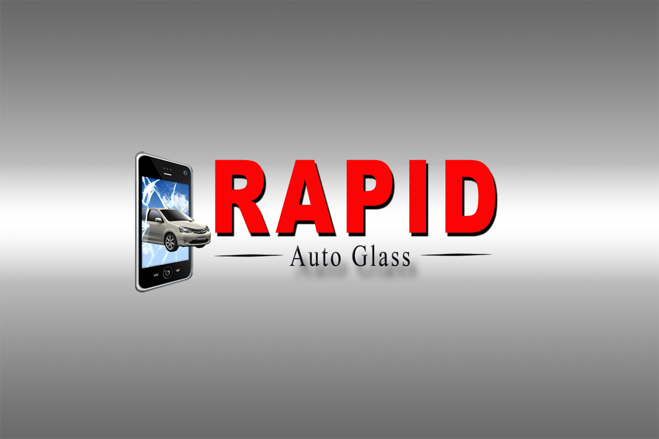 Logo Design by Terry Smith - Entry No. 190 in the Logo Design Contest Unique Logo Design Wanted for Rapid Auto Glass.