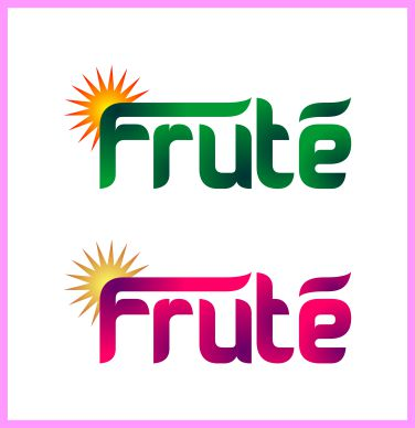 Logo Design by brown_hair - Entry No. 48 in the Logo Design Contest Imaginative Logo Design for Fruté.