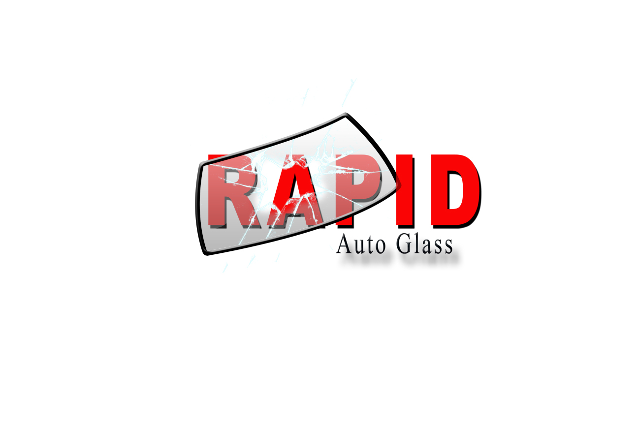 Logo Design by Terry Smith - Entry No. 191 in the Logo Design Contest Unique Logo Design Wanted for Rapid Auto Glass.