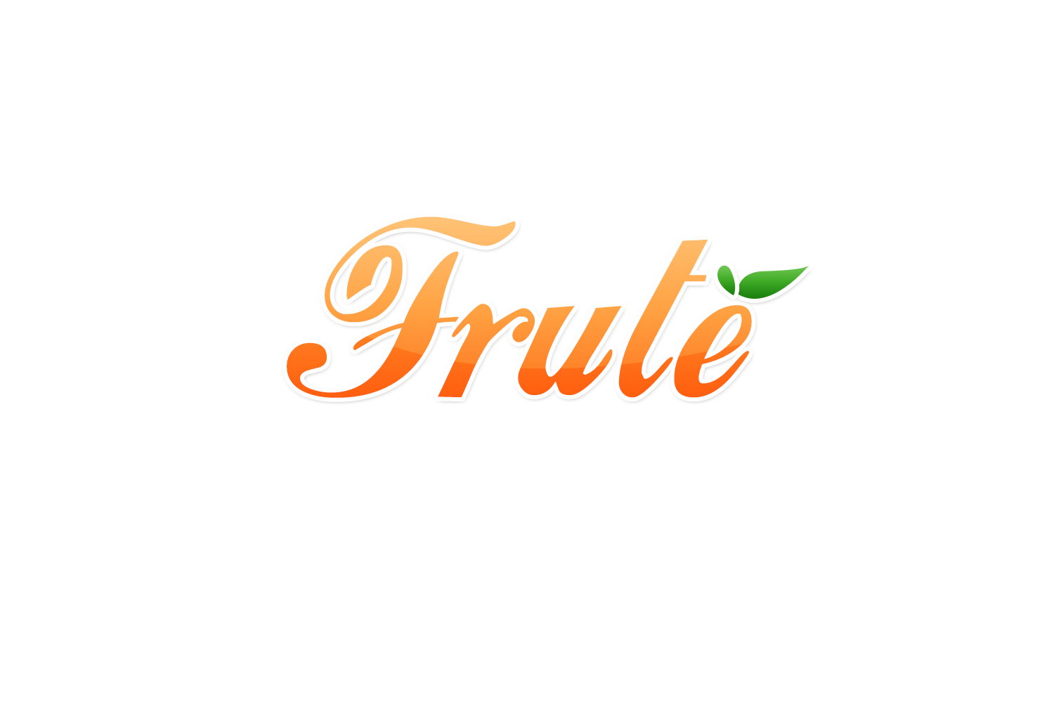 Logo Design by Jep Knopz - Entry No. 53 in the Logo Design Contest Imaginative Logo Design for Fruté.