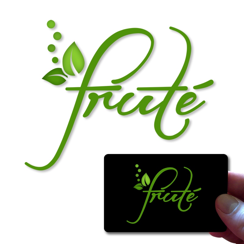 Logo Design by Robert Turla - Entry No. 55 in the Logo Design Contest Imaginative Logo Design for Fruté.