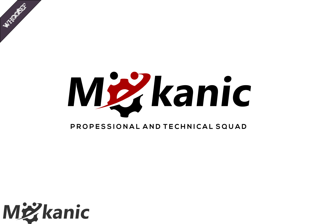 Logo Design by whoosef - Entry No. 10 in the Logo Design Contest Creative Logo Design for MËKANIC - Professional and technical squad.