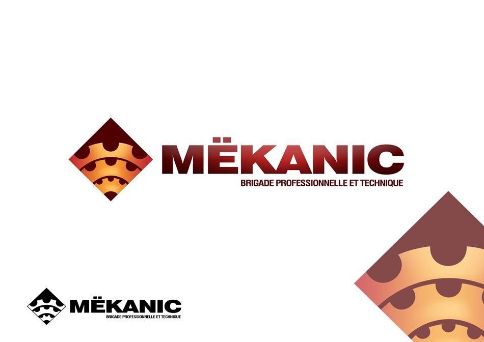 Logo Design by Respati Himawan - Entry No. 11 in the Logo Design Contest Creative Logo Design for MËKANIC - Professional and technical squad.