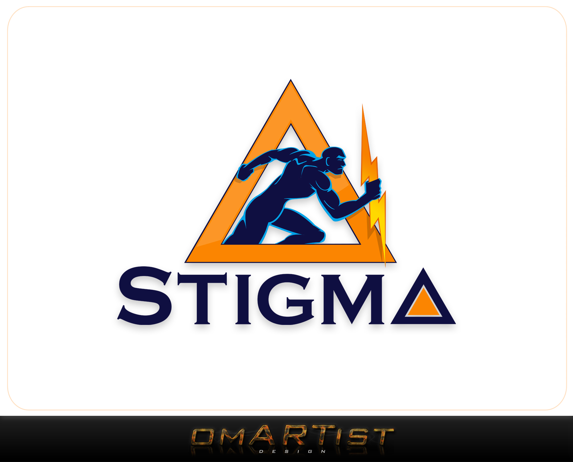 Logo Design by omARTist - Entry No. 40 in the Logo Design Contest Creative Logo Design for STIGMA.