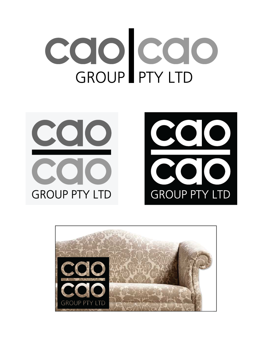 Logo Design by Christina Evans - Entry No. 1 in the Logo Design Contest cao cao group pty ltd Logo Design.
