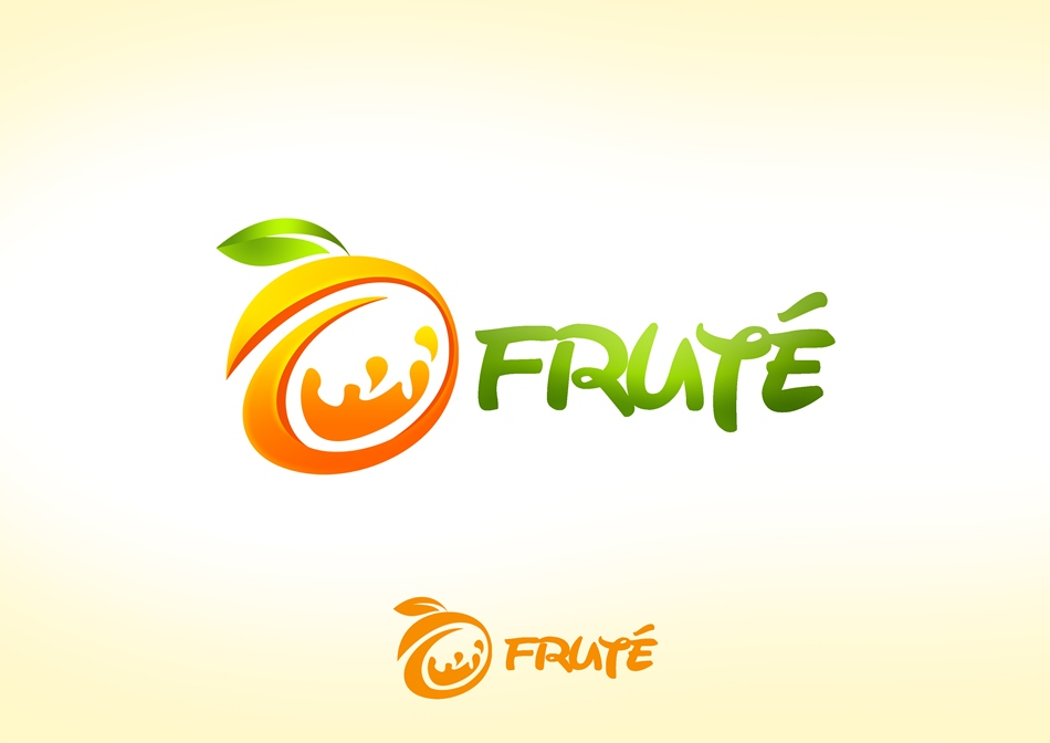 Logo Design by Respati Himawan - Entry No. 63 in the Logo Design Contest Imaginative Logo Design for Fruté.
