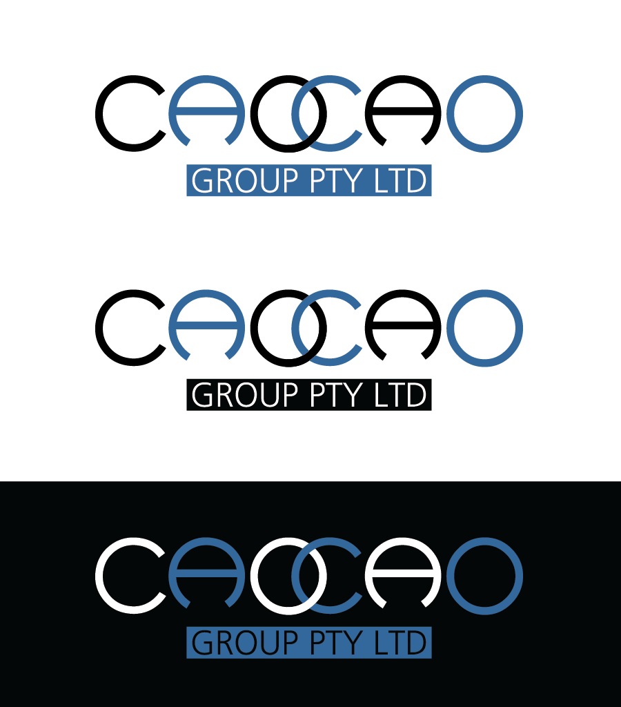 Logo Design by Christina Evans - Entry No. 2 in the Logo Design Contest cao cao group pty ltd Logo Design.