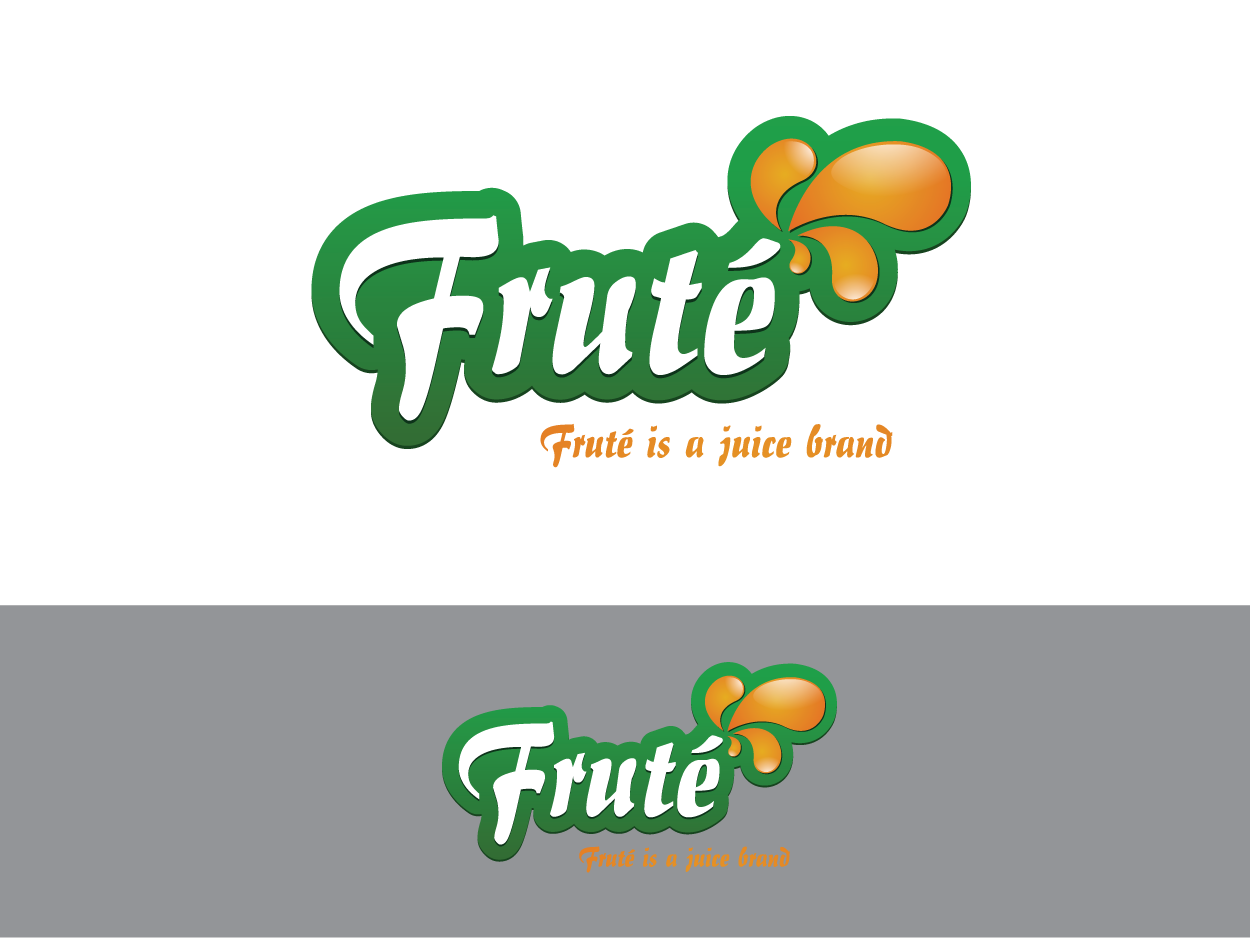 Logo Design by Private User - Entry No. 64 in the Logo Design Contest Imaginative Logo Design for Fruté.