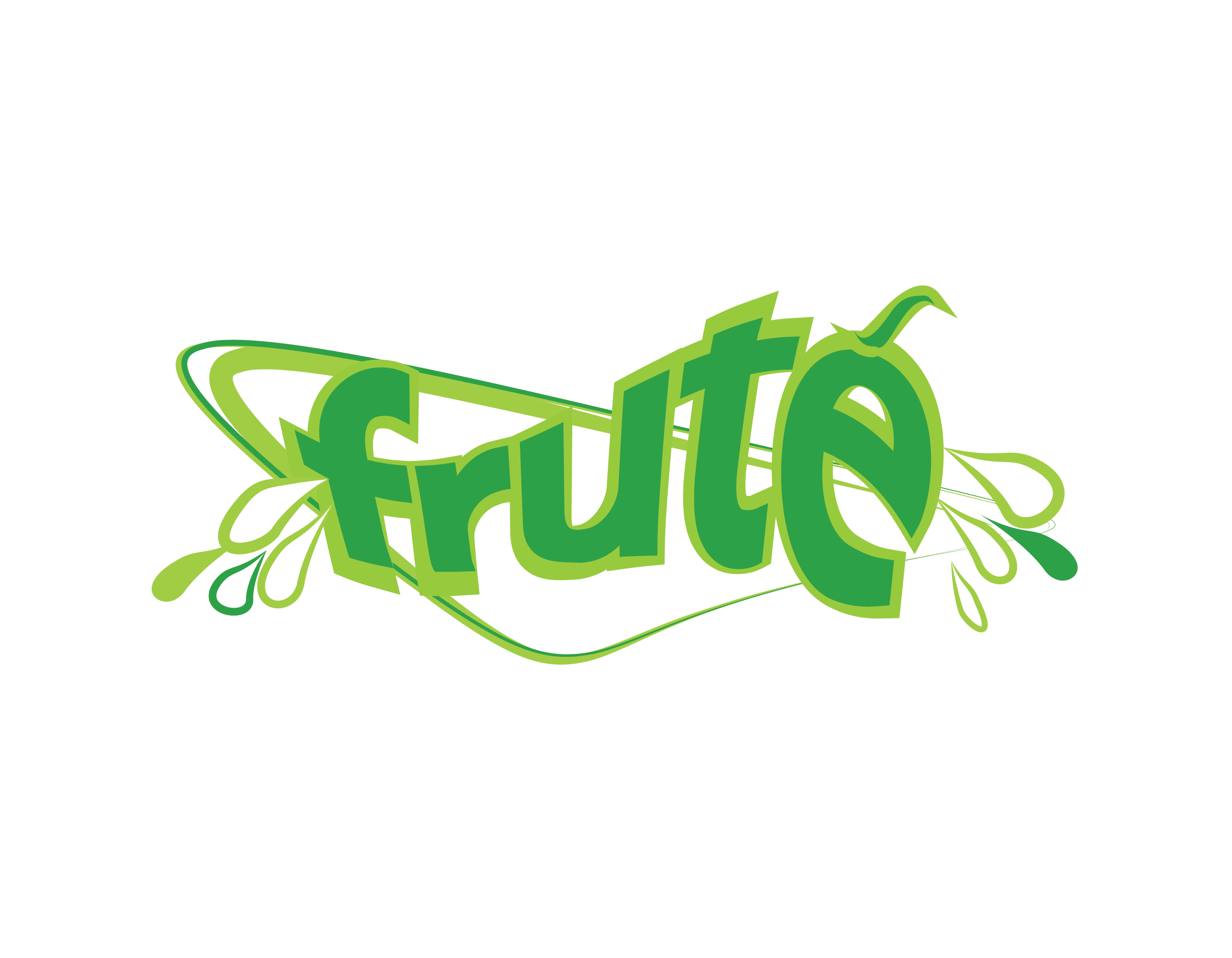 Logo Design by Tim Holley - Entry No. 66 in the Logo Design Contest Imaginative Logo Design for Fruté.