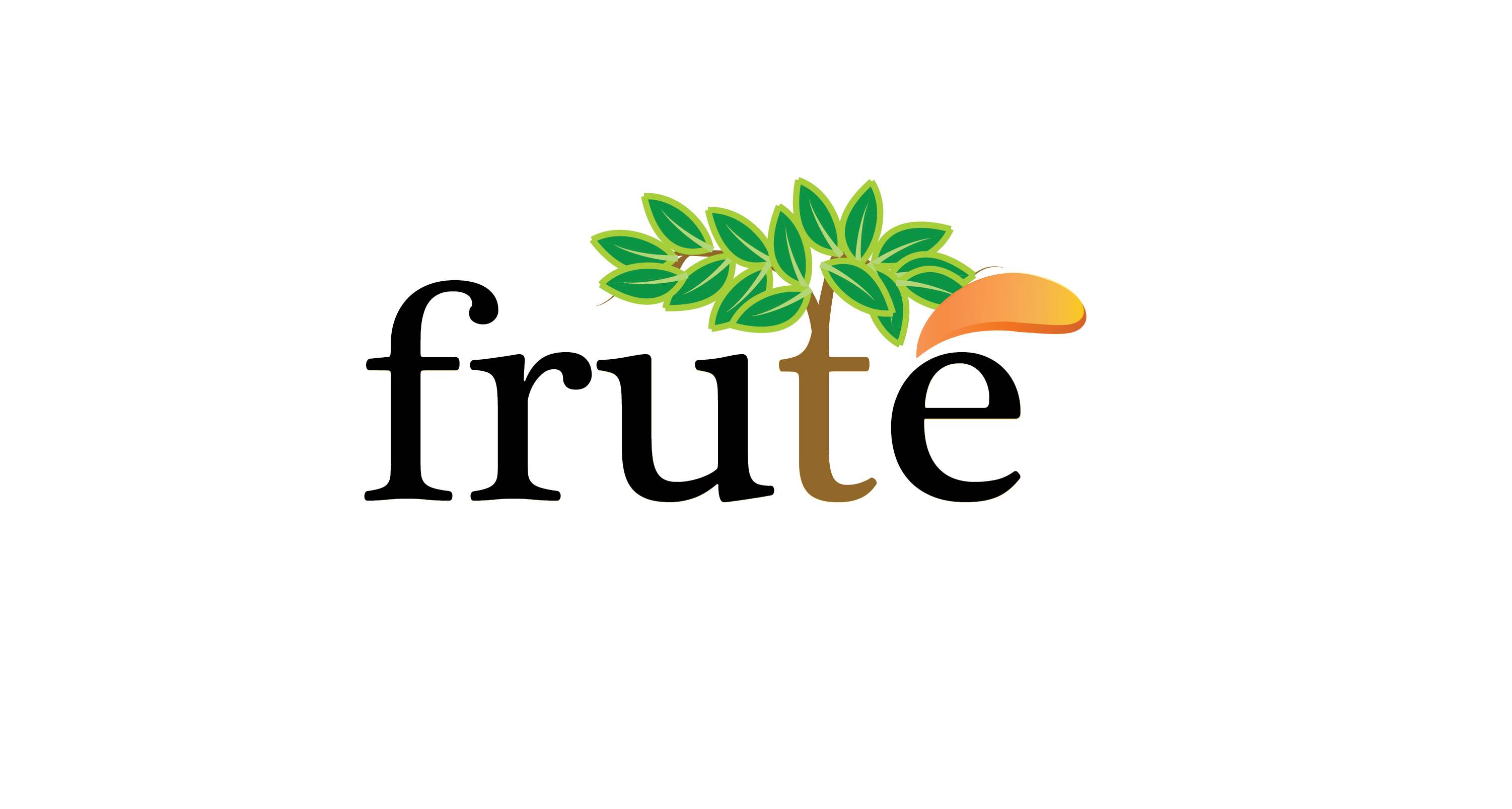 Logo Design by Tim Holley - Entry No. 69 in the Logo Design Contest Imaginative Logo Design for Fruté.