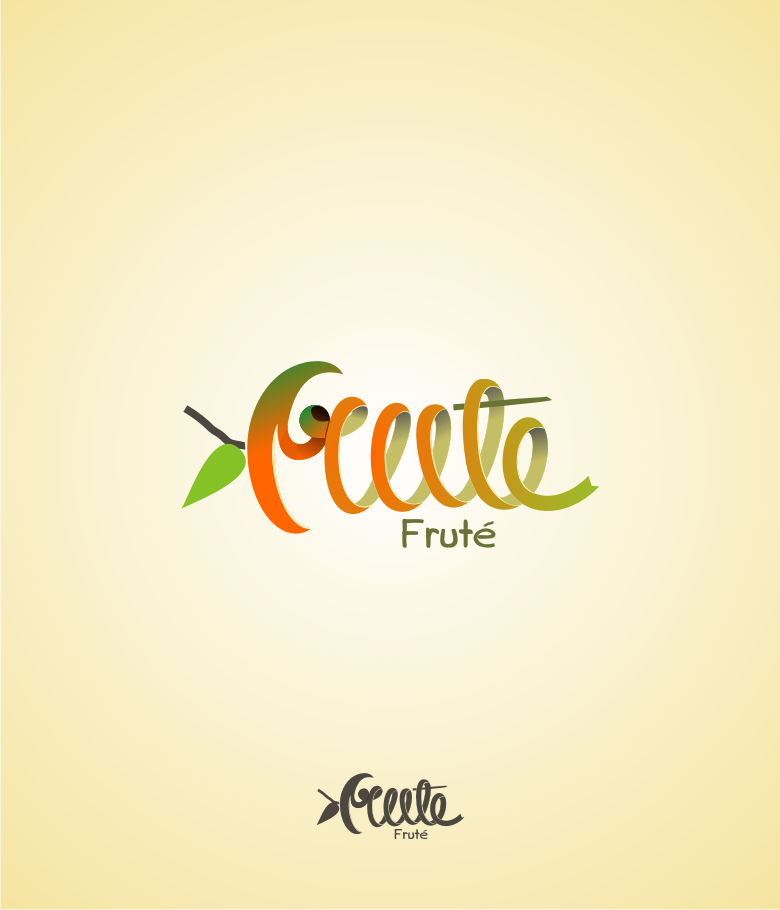 Logo Design by Muhammad Nasrul chasib - Entry No. 71 in the Logo Design Contest Imaginative Logo Design for Fruté.