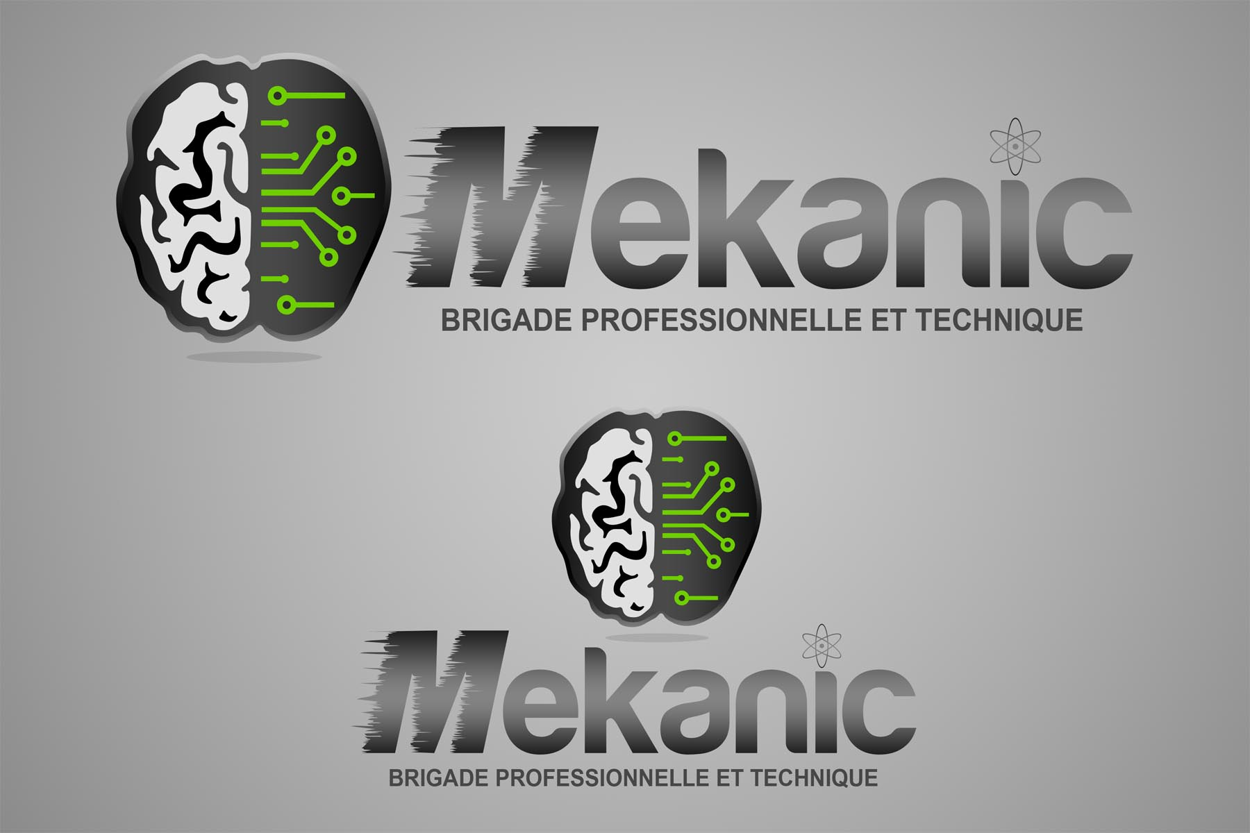 Logo Design by Private User - Entry No. 22 in the Logo Design Contest Creative Logo Design for MËKANIC - Professional and technical squad.