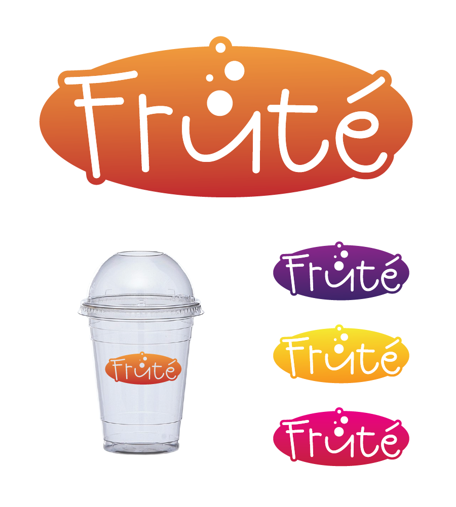 Logo Design by Christina Evans - Entry No. 72 in the Logo Design Contest Imaginative Logo Design for Fruté.