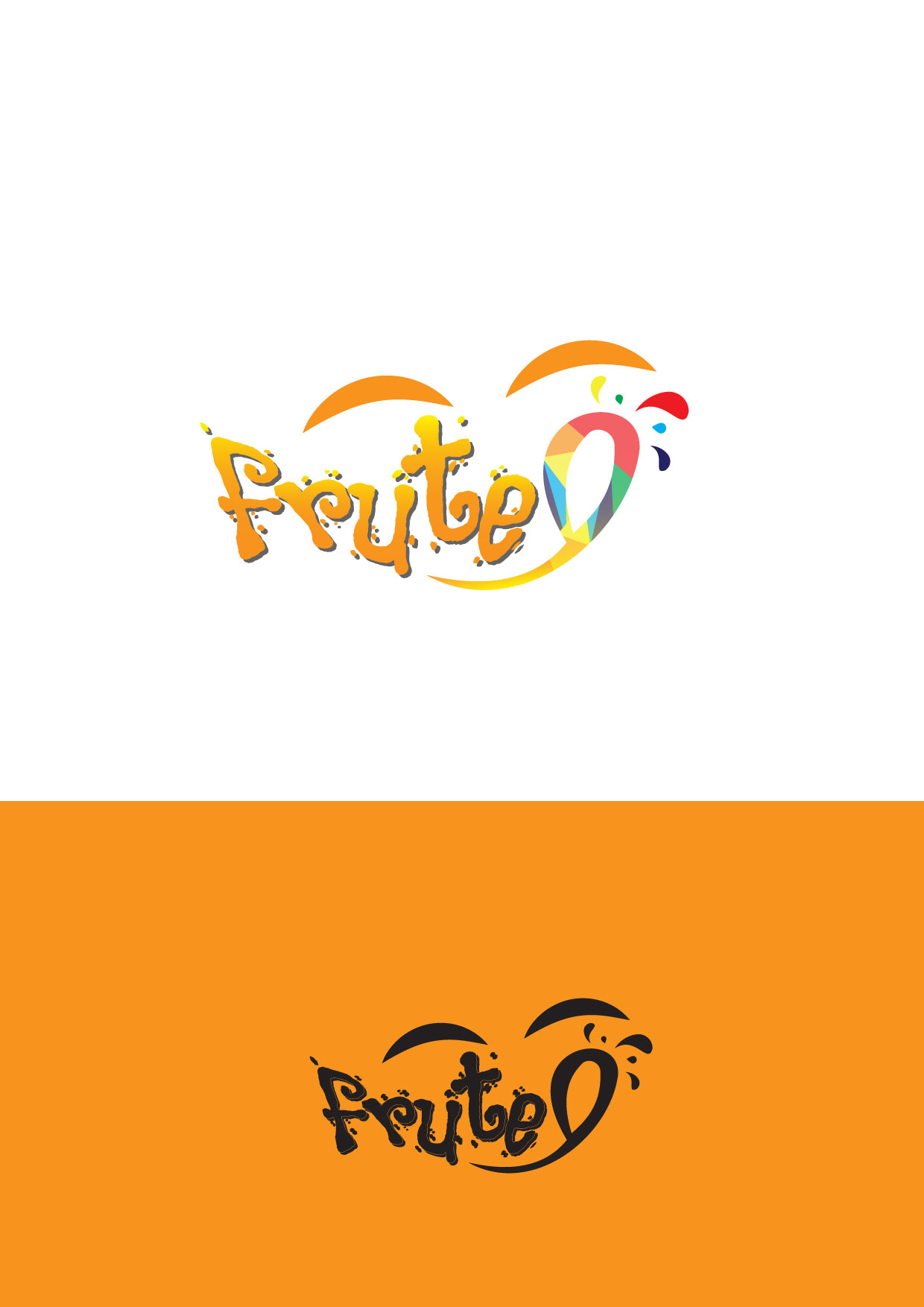Logo Design by Dit L Pambudi - Entry No. 75 in the Logo Design Contest Imaginative Logo Design for Fruté.
