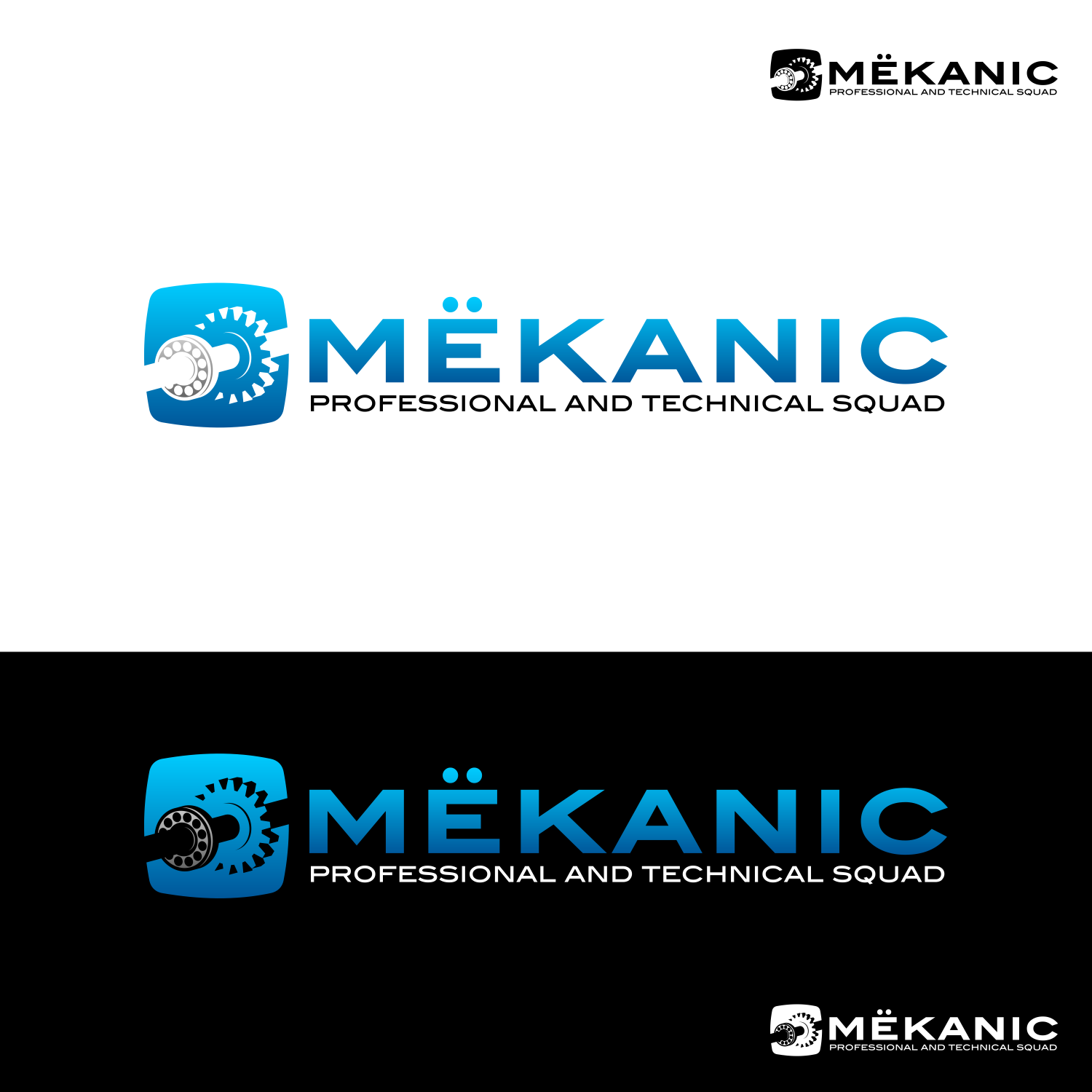 Logo Design by martinz - Entry No. 28 in the Logo Design Contest Creative Logo Design for MËKANIC - Professional and technical squad.