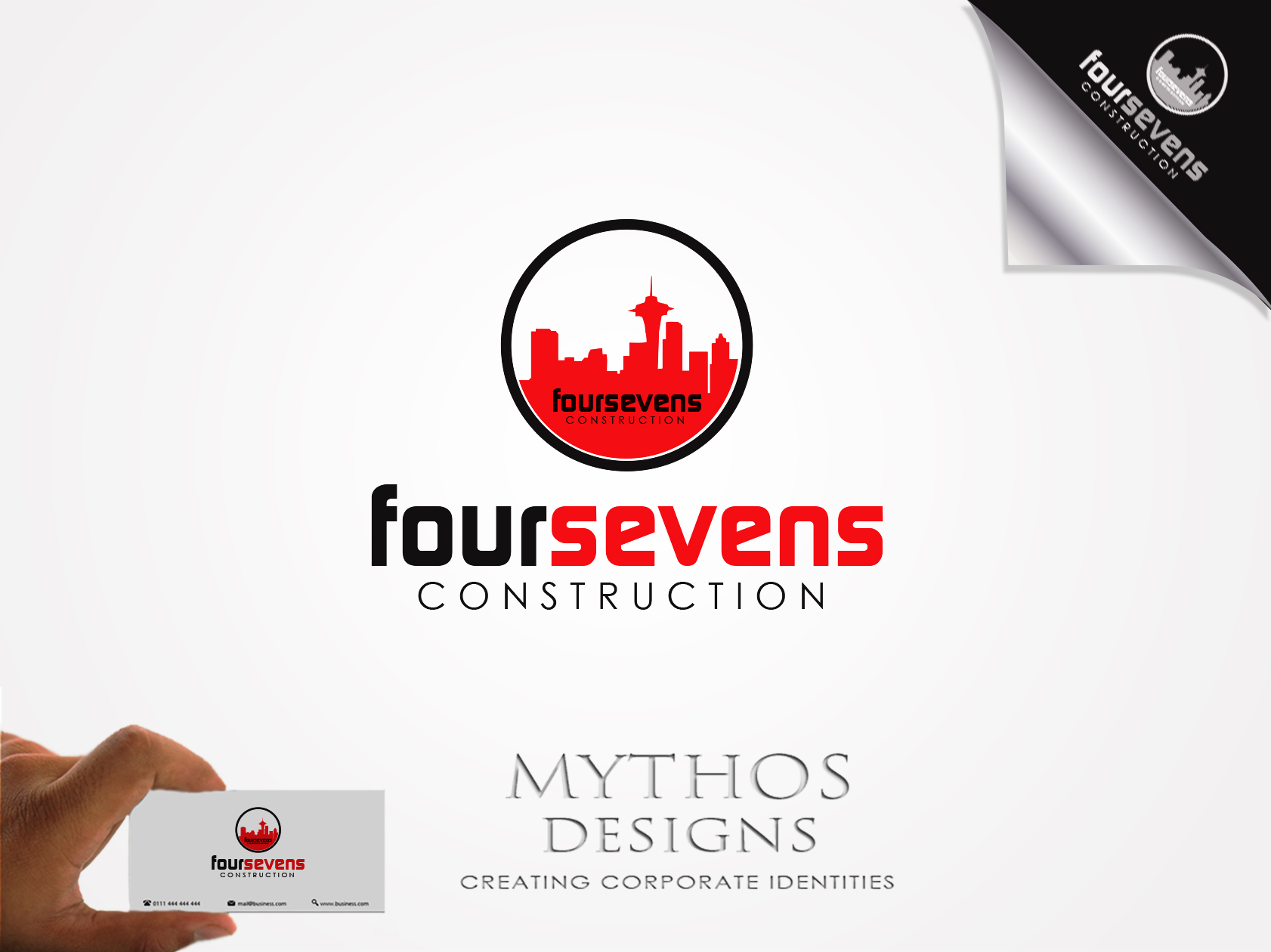 Logo Design by Mythos Designs - Entry No. 88 in the Logo Design Contest New Logo Design for foursevens.