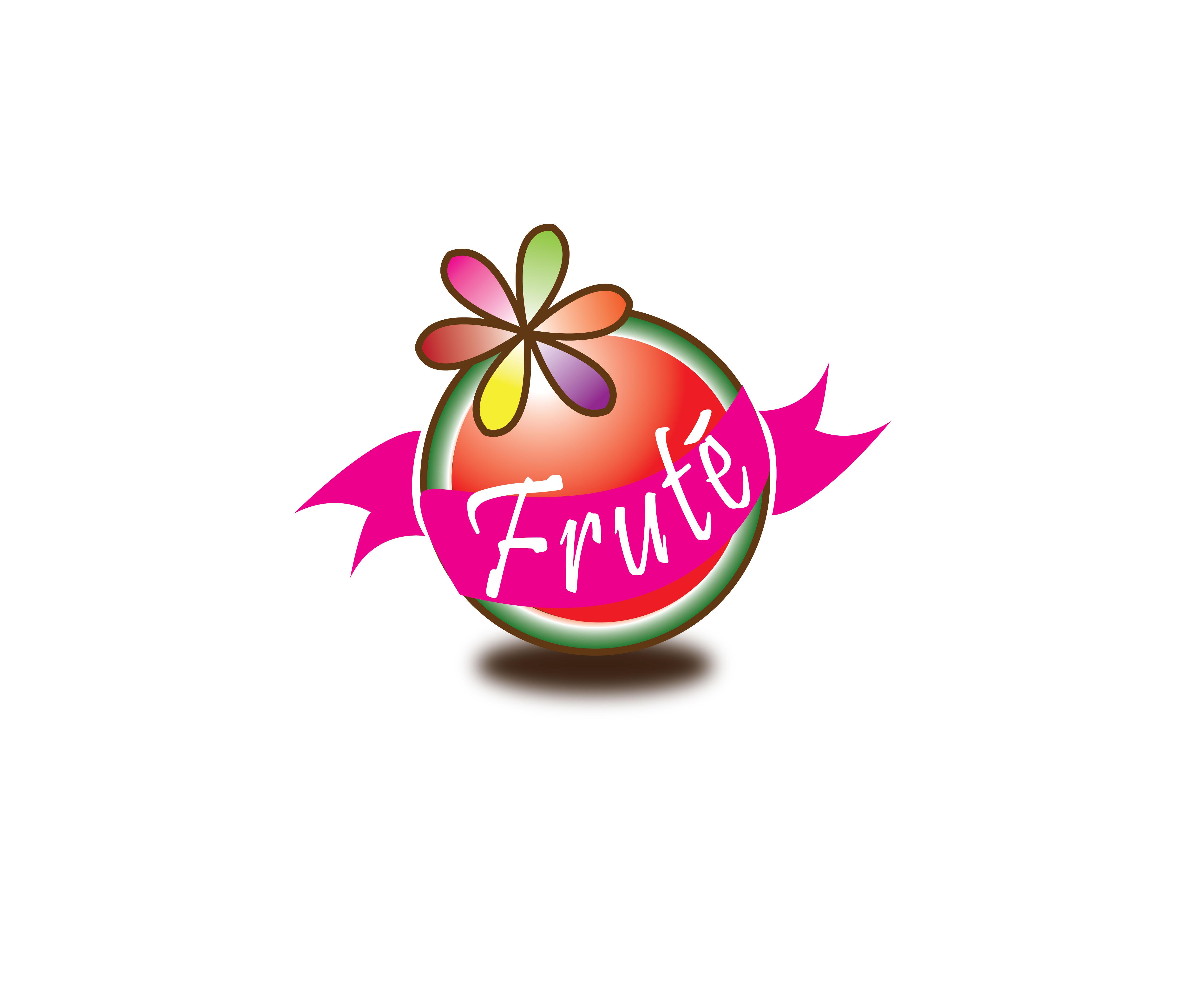 Logo Design by jhunzkie24 - Entry No. 76 in the Logo Design Contest Imaginative Logo Design for Fruté.