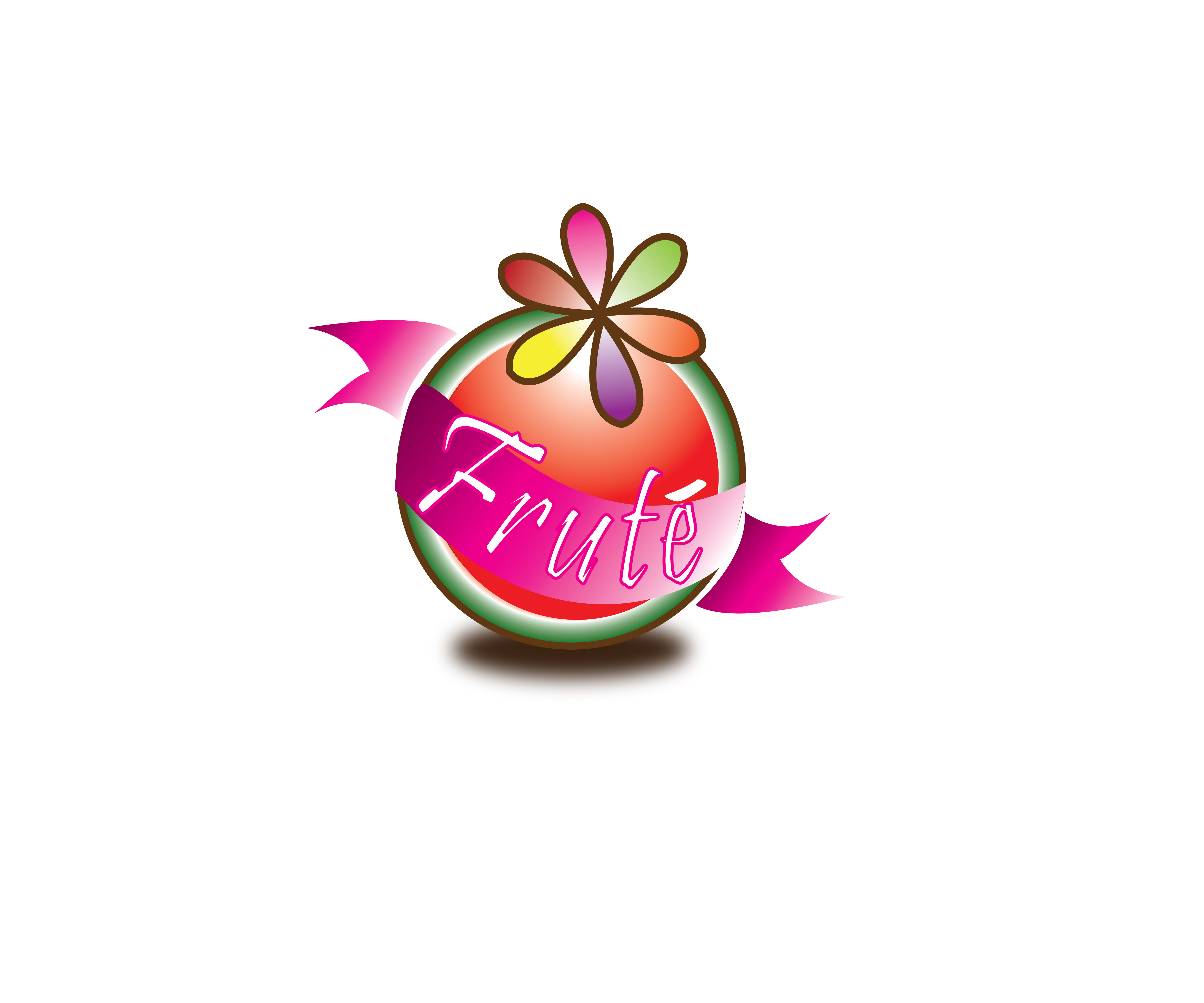Logo Design by jhunzkie24 - Entry No. 77 in the Logo Design Contest Imaginative Logo Design for Fruté.