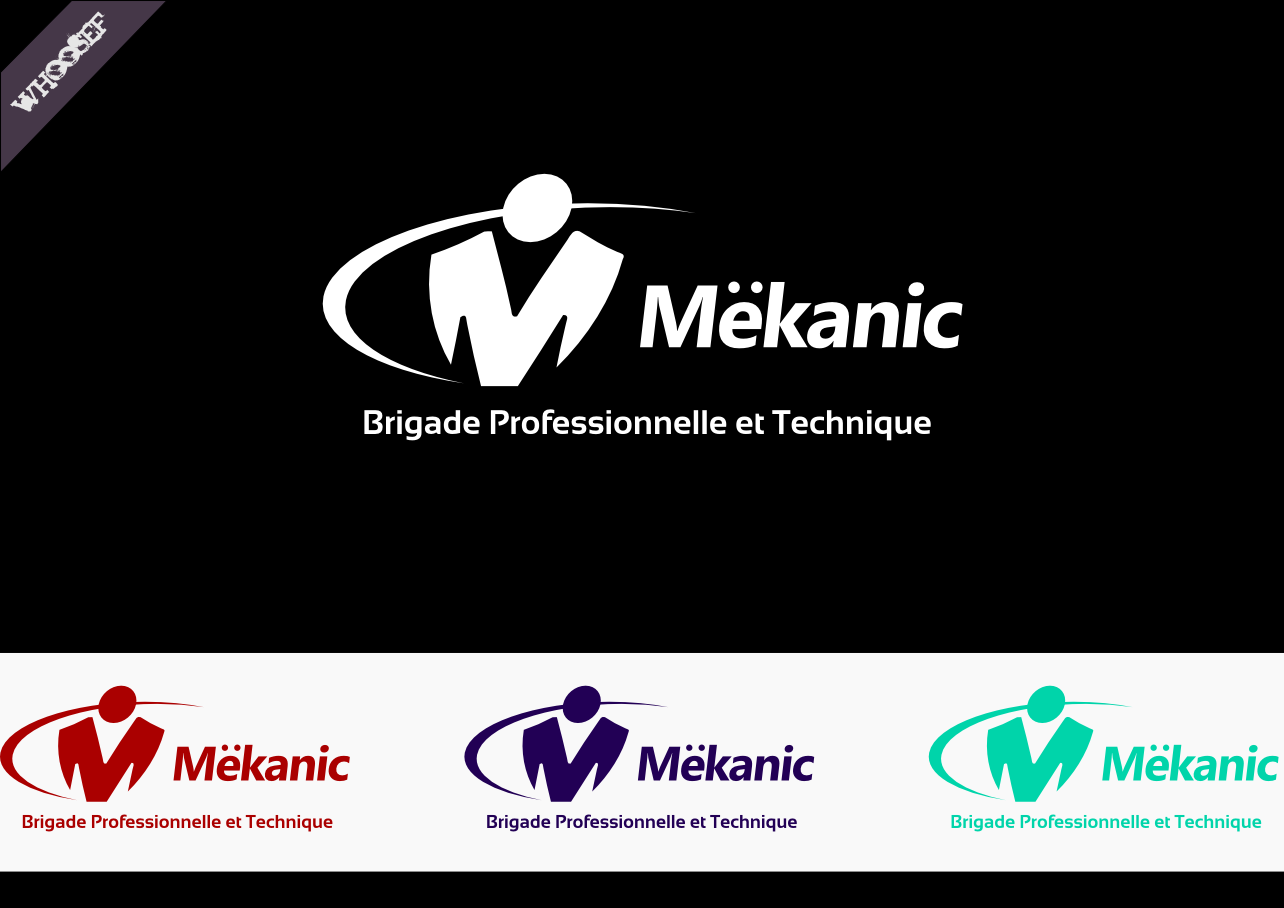 Logo Design by whoosef - Entry No. 32 in the Logo Design Contest Creative Logo Design for MËKANIC - Professional and technical squad.