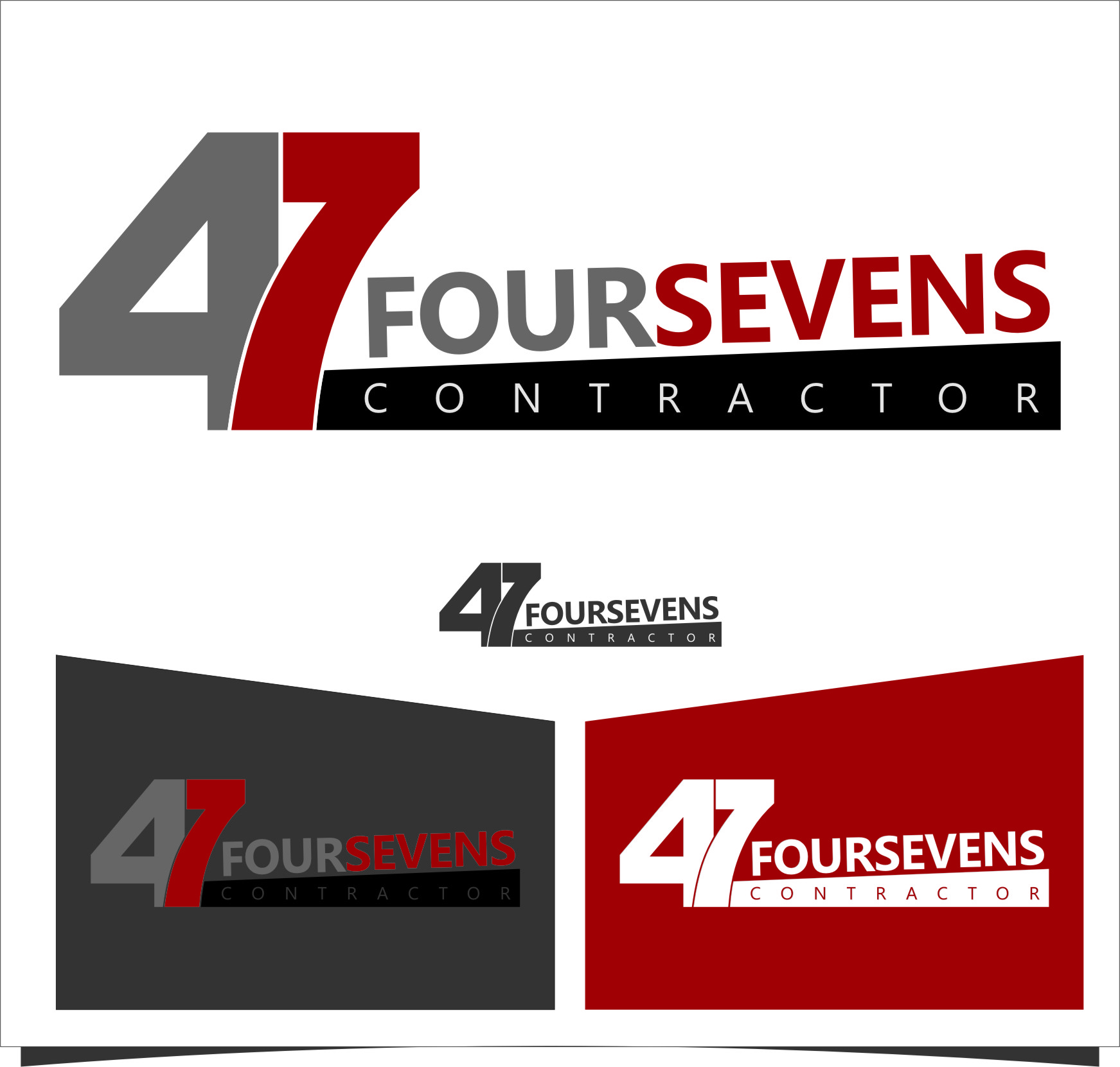 Logo Design by Ngepet_art - Entry No. 91 in the Logo Design Contest New Logo Design for foursevens.