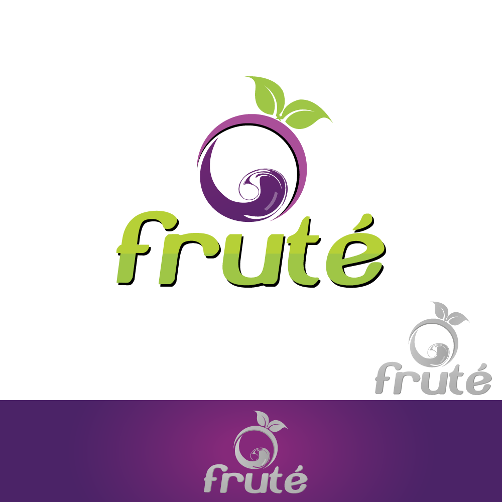Logo Design by rockin - Entry No. 79 in the Logo Design Contest Imaginative Logo Design for Fruté.