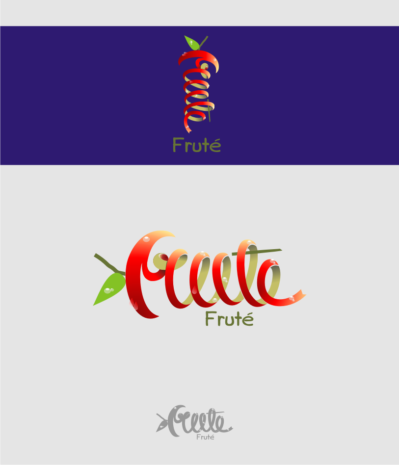 Logo Design by graphicleaf - Entry No. 82 in the Logo Design Contest Imaginative Logo Design for Fruté.