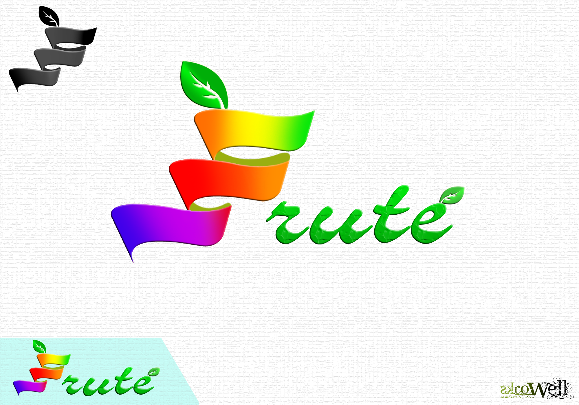 Logo Design by Rowell - Entry No. 87 in the Logo Design Contest Imaginative Logo Design for Fruté.