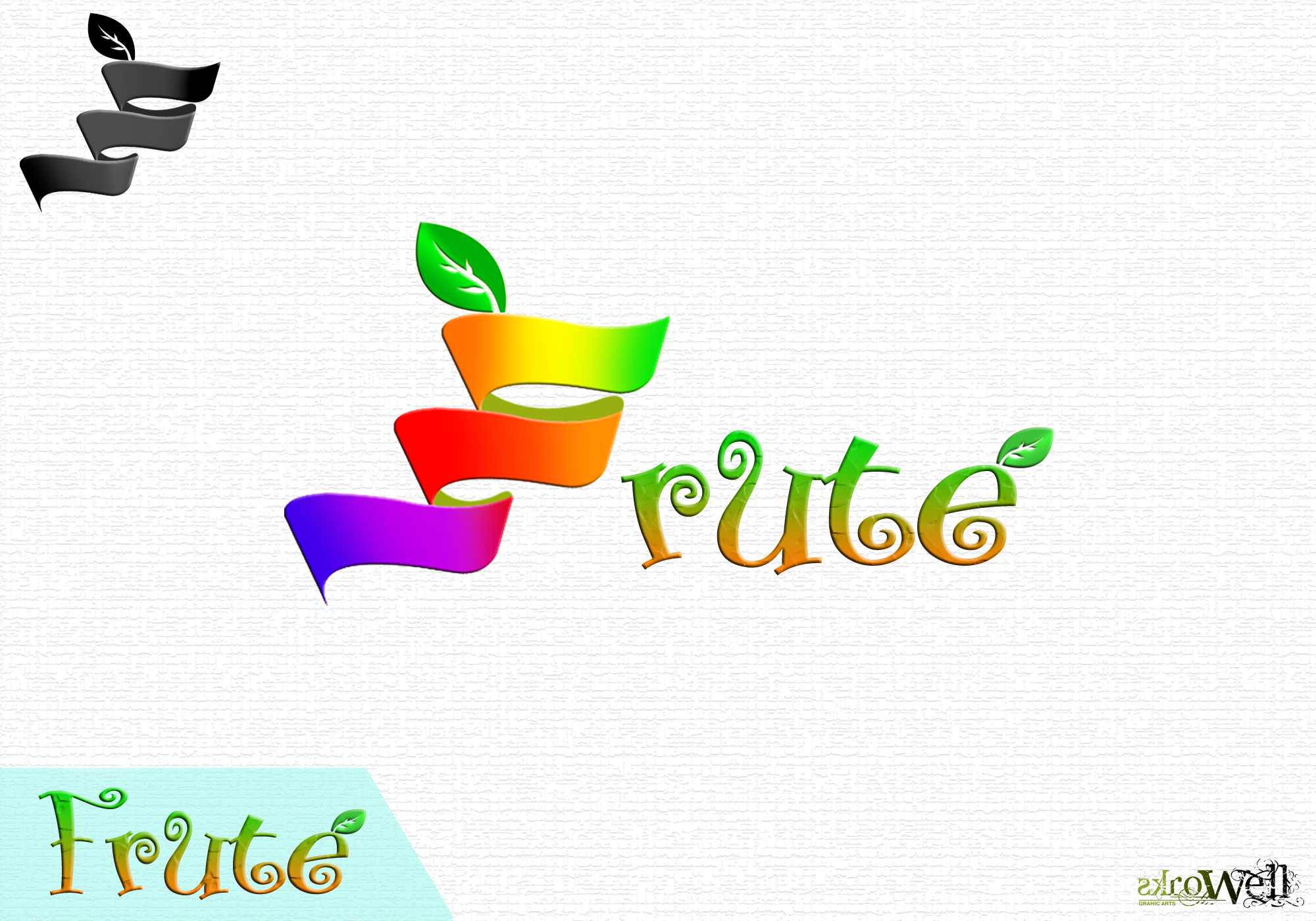 Logo Design by Rowell - Entry No. 88 in the Logo Design Contest Imaginative Logo Design for Fruté.