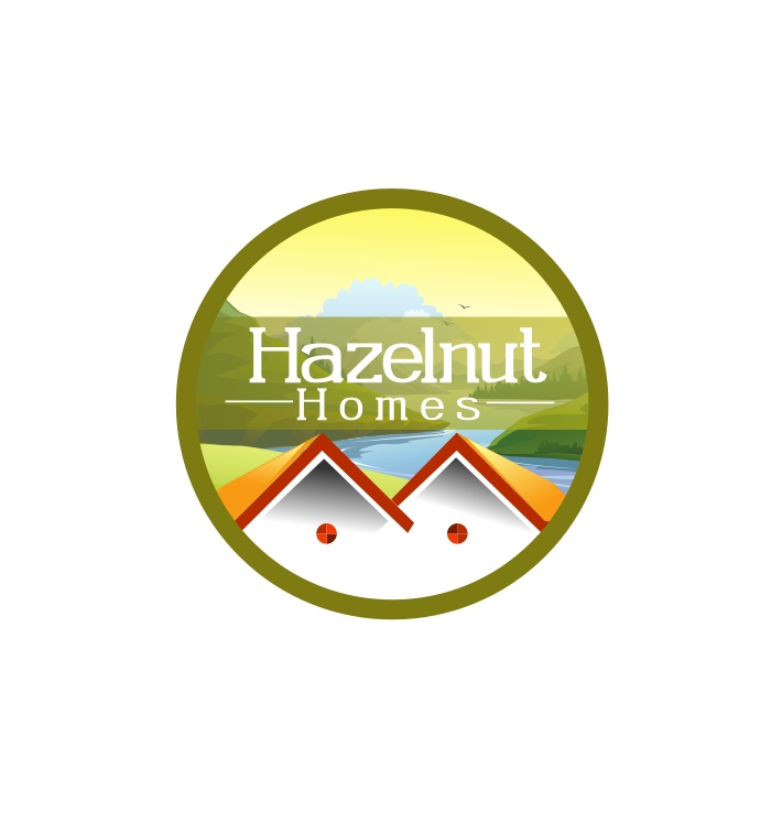 Logo Design by Private User - Entry No. 2 in the Logo Design Contest Unique Logo Design Wanted for Hazelnut Homes.