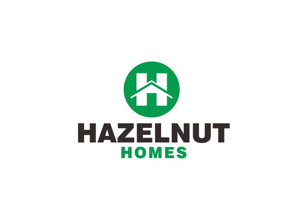 Logo Design by ronny - Entry No. 3 in the Logo Design Contest Unique Logo Design Wanted for Hazelnut Homes.